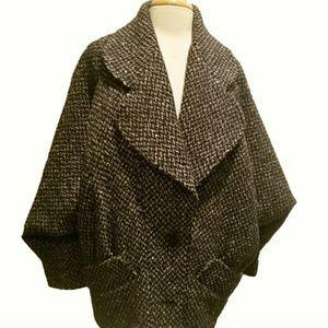 Vintage Oversized Cocoon Coat